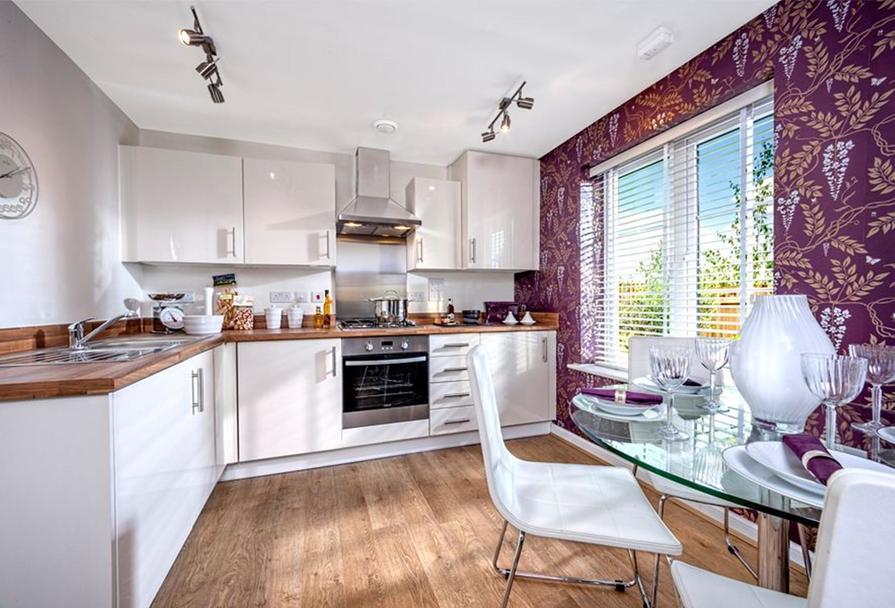 Similar Barratt Show Apartment Kitchen