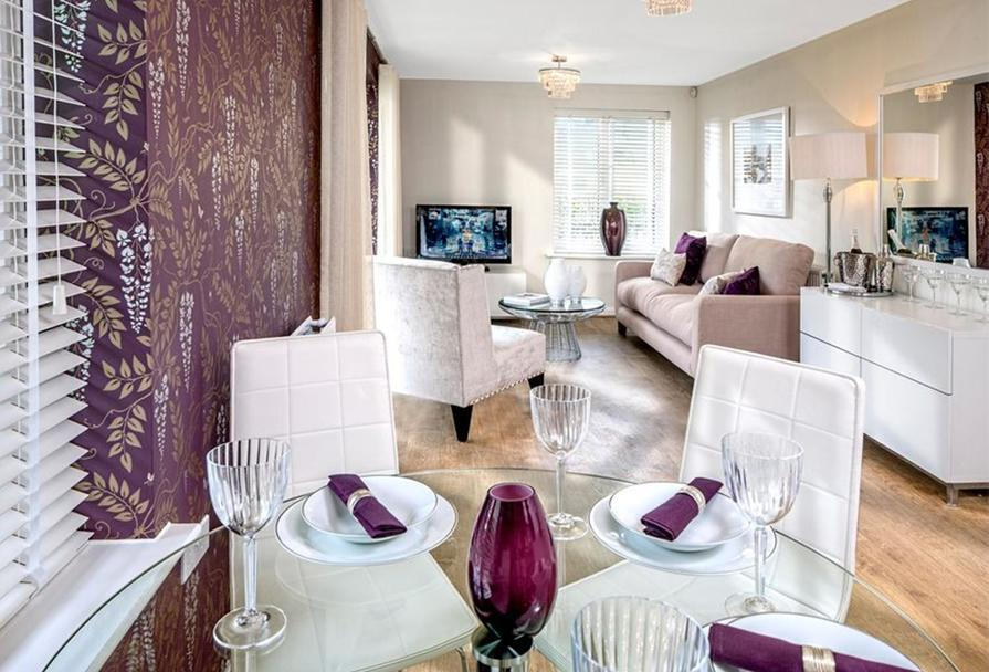 Similar Barratt Show Apartment Lounge/Dining