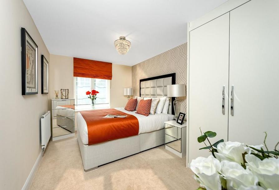 Similar Barratt Show Apartment Bedroom