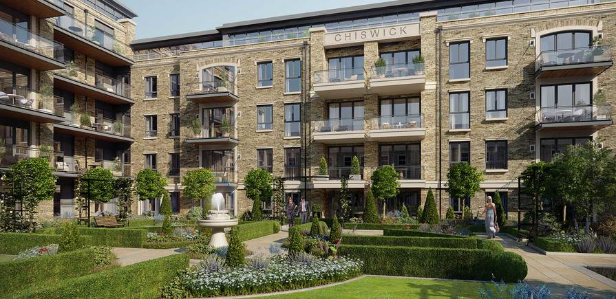 Berkeley, Chiswick Gate, Apartments, External