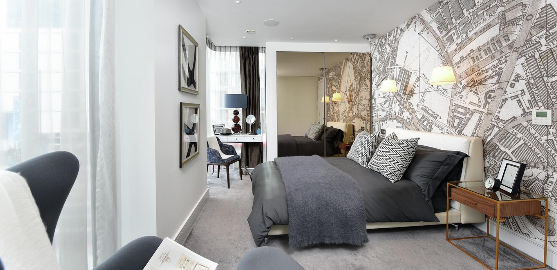 Berkeley, 250 City Road, Islington, Interior, Master Bedroom