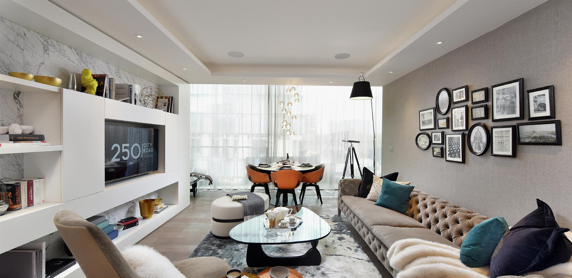 Berkeley, 250 City Road, Islington, Show Apartment, Interior, Living Area