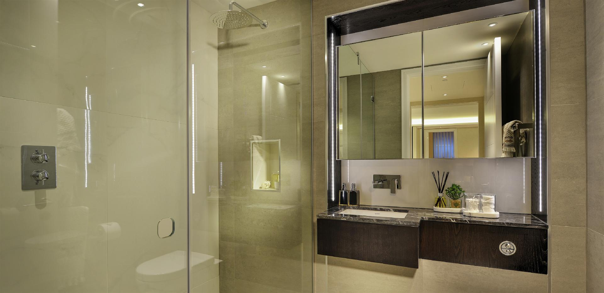 Berkeley, 250 City Road, Islington, Interior, Show Apartment, Shower Room
