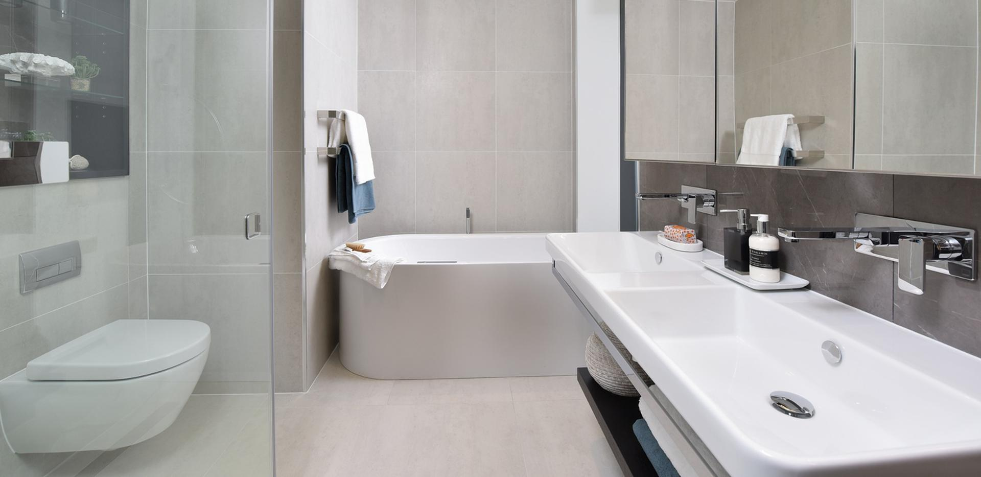 Berkeley, 250 City Road, Islington, Interior, Show Apartment, Bathroom