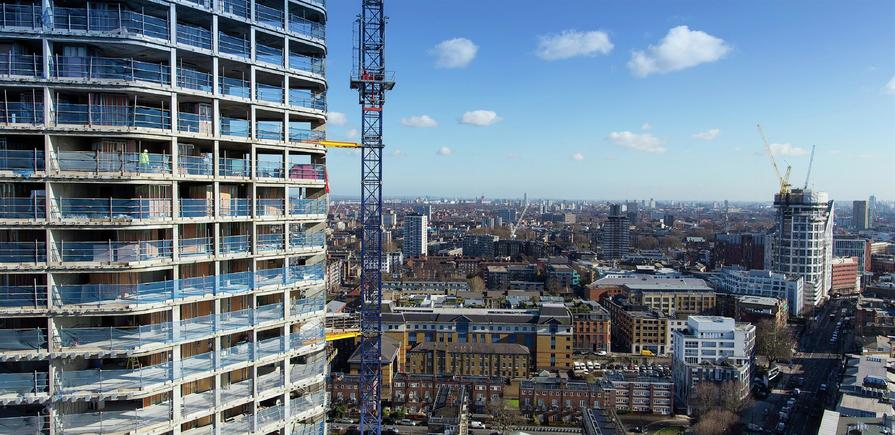 Berkeley, 250 City Road, View Photography, Tower 1, Level 22, NORTH EAST VIEW