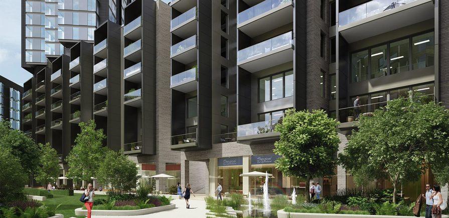 Berkeley, 250 City Road, Development exterior