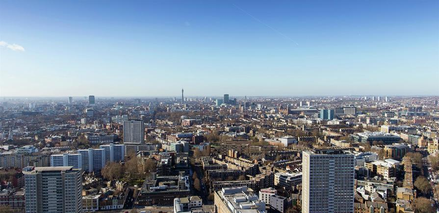 Berkeley, 250 City Road, View Photography, Tower 1, Level 40, WEST FACING