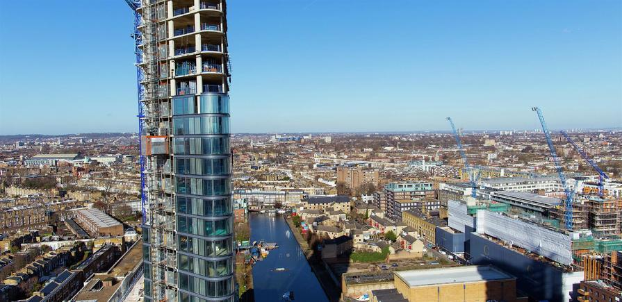 Berkeley, 250 City Road, View Photography, Tower 1, Level 22, NORTH FACING