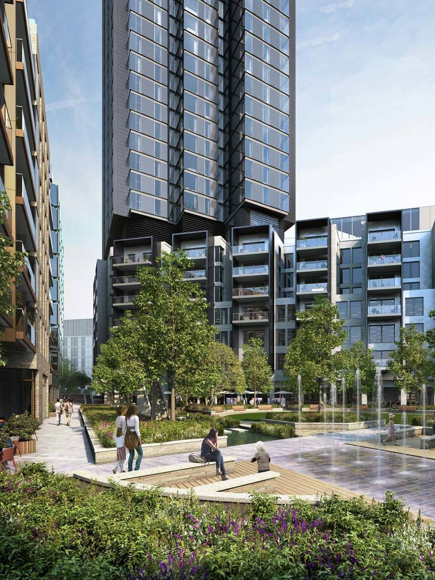 Berkeley, 250 City Road, Development Exterior