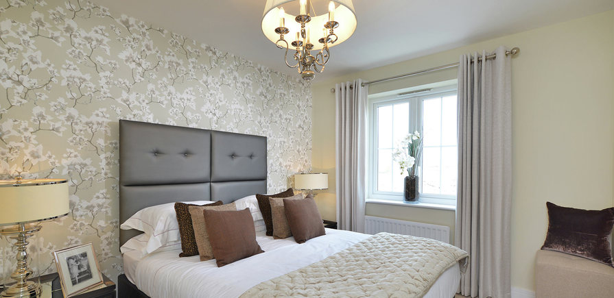 Berkeley, Bersted Park,Plot 1 Showhome Interior , Bedroom 1