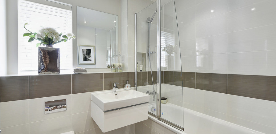 Berkeley, Bersted Park,Plot 1 Showhome Interior , bathroom