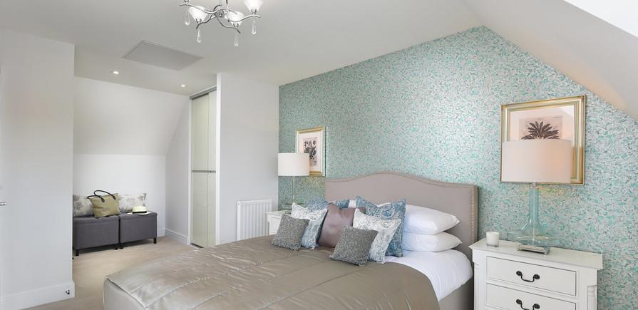 Berkeley, Bersted Park, Showhome Interior, Bedroom3
