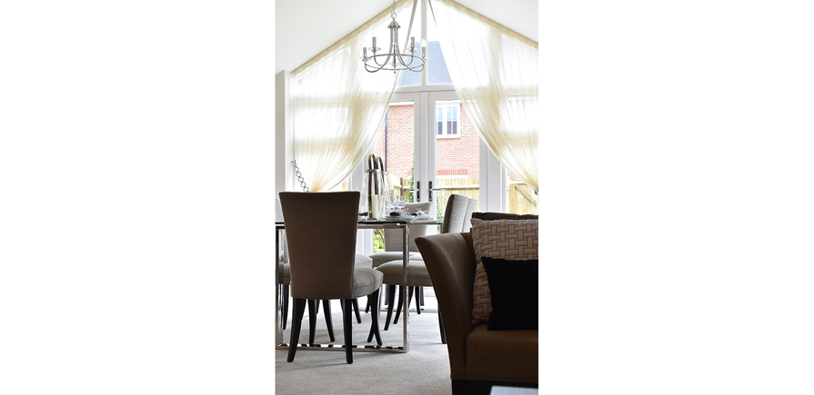 Berkeley, Bersted Park,Plot 1 Showhome Interior , Dining Area View 02
