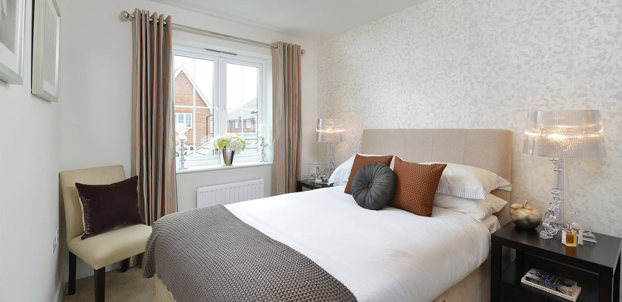 Berkeley, Bersted Park,Plot 1 Showhome Interior , Bedroom 2