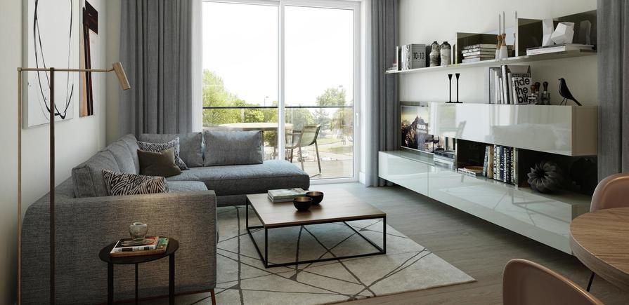 Berkeley, Brunswick Square, Interior, Living Room