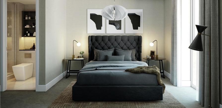 Berkeley, Brunswick Square, Interior, Bedroom