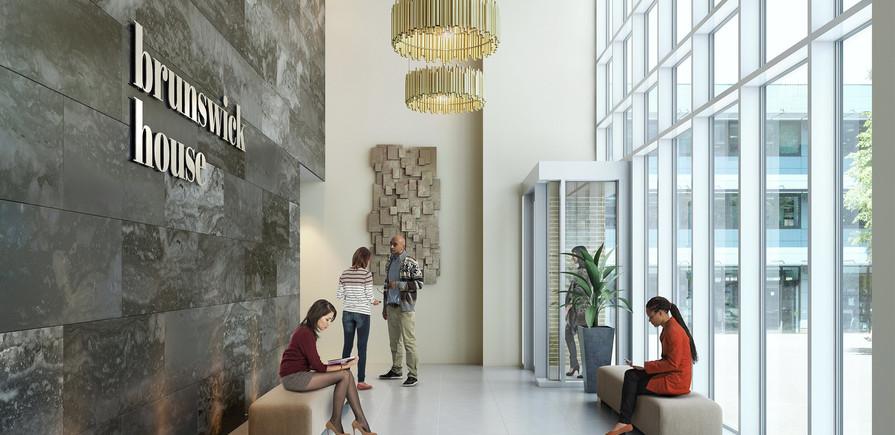Berkeley, Brunswick Square, Interior, Lobby