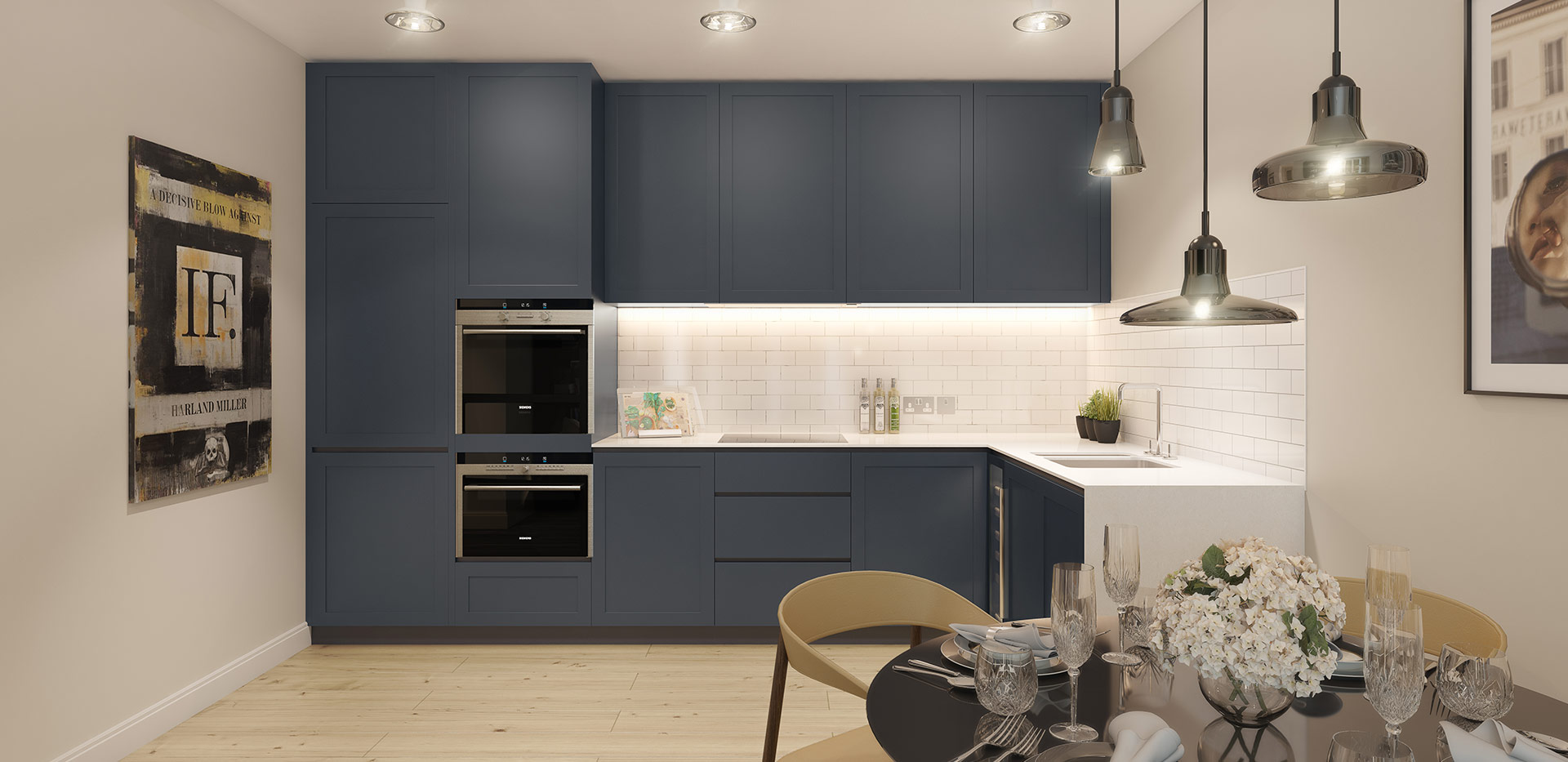 Berkeley, Chiswick Gate, Apartments, Kitchen, Interior