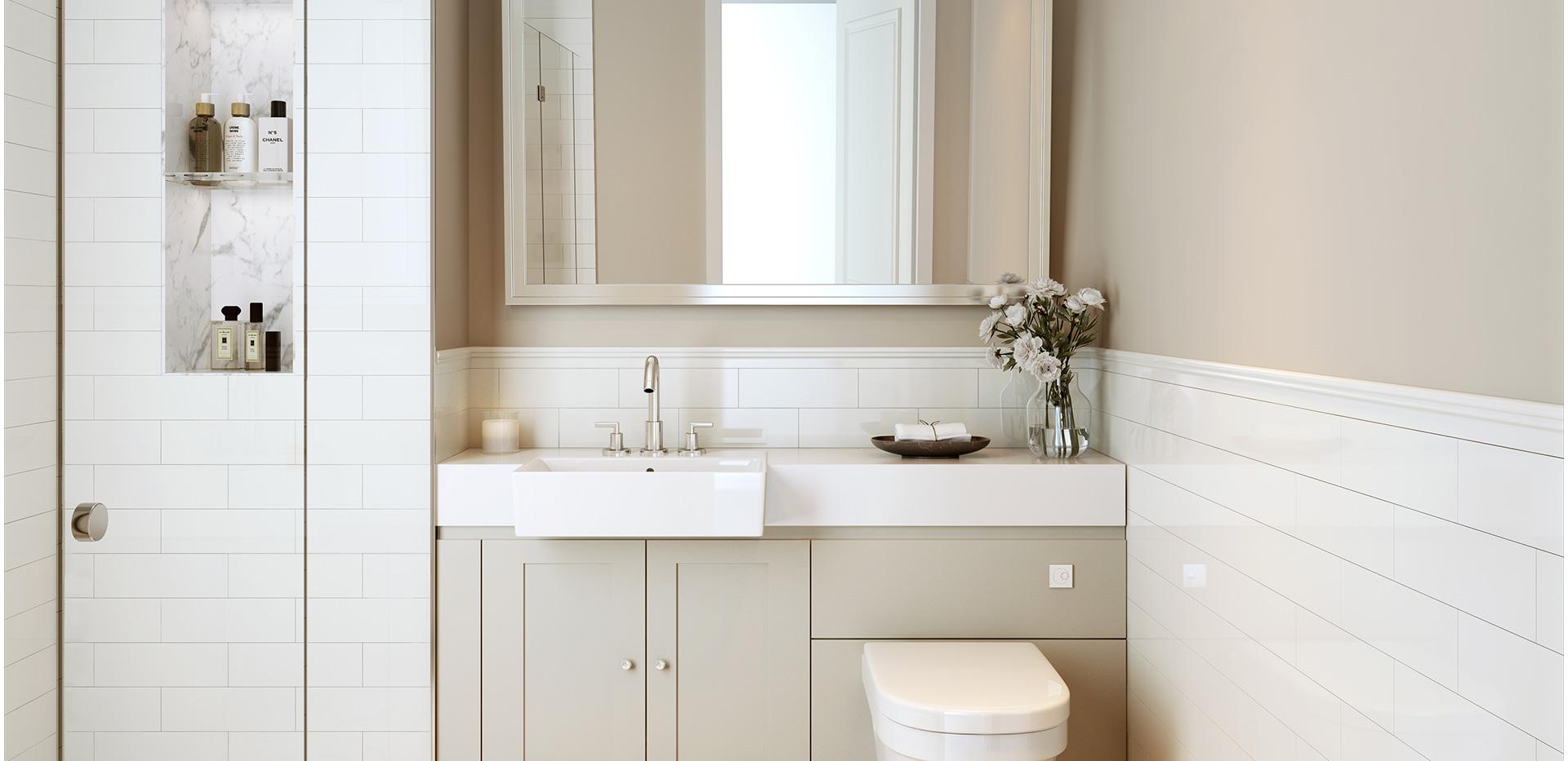 Berkeley, Townhouse, Bathroom, Interior View