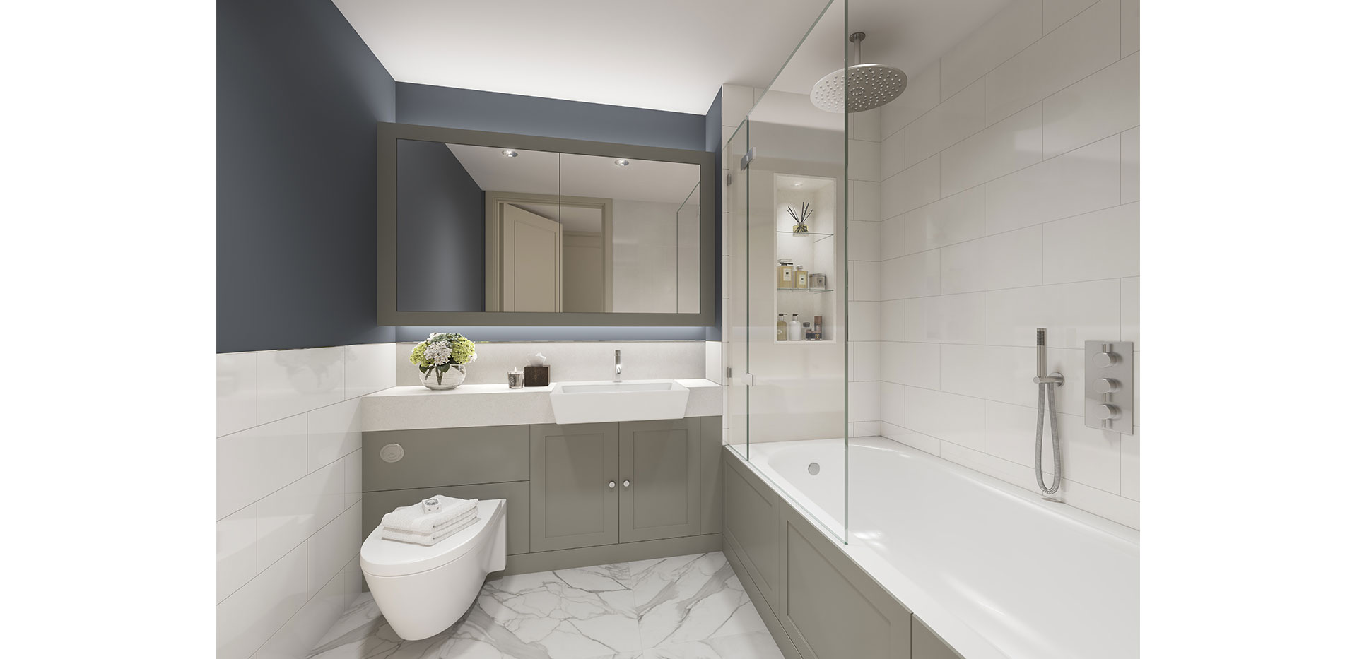 Berkeley, Chiswick Gate, Interior, Bathroom