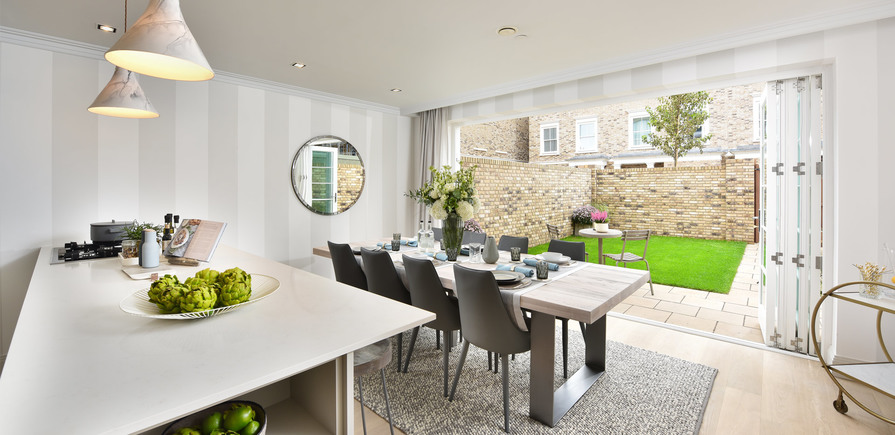 Berkeley, Chiswick Gate, 5 Bed Townhouse, Bedroom 4, Interior
