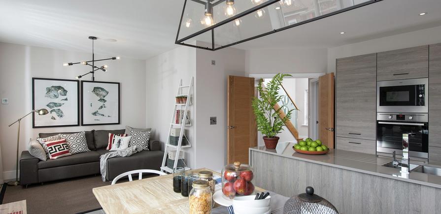 Berkeley, Edenbrook, Kitchen and Hall, Plot 309