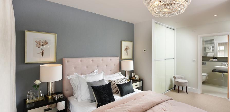 Berkeley, Edenbrook, Plot 390, Master Bedroom, Interior