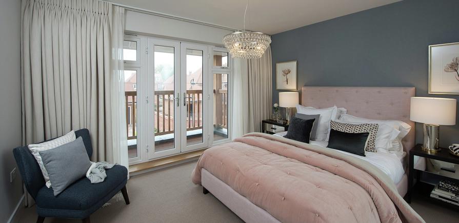 Berkeley, Edenbrook, Bedroom 02, Plot 309