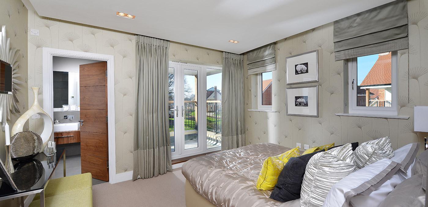 Berkeley, Edenbrook, Bedroom, Interior