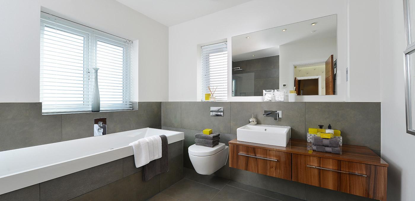 Berkeley, Edenbrook, Bathroom, En-suite, Interior