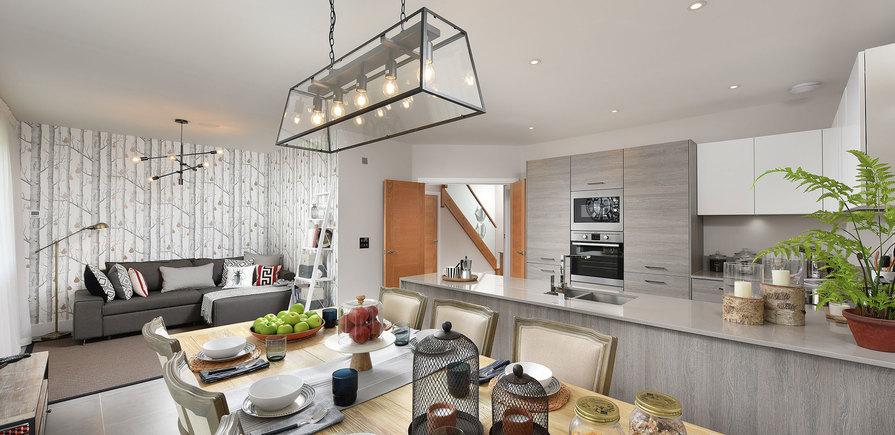 Berkeley, Edenbrook, Plot 390, Kitchen Hallway, Interior