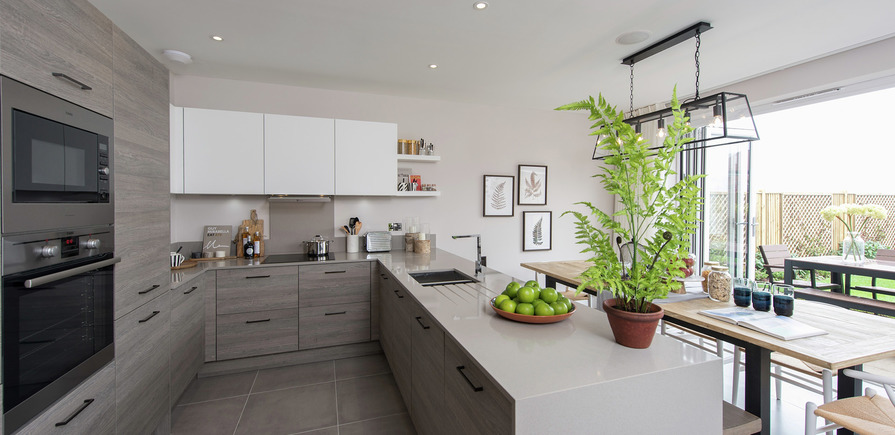 Berkeley, Edenbrook, Kitchen view02, Plot 309