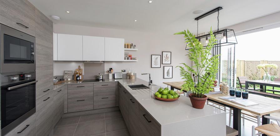 Berkeley, Edenbrook, Kitchen view02, Plot 309