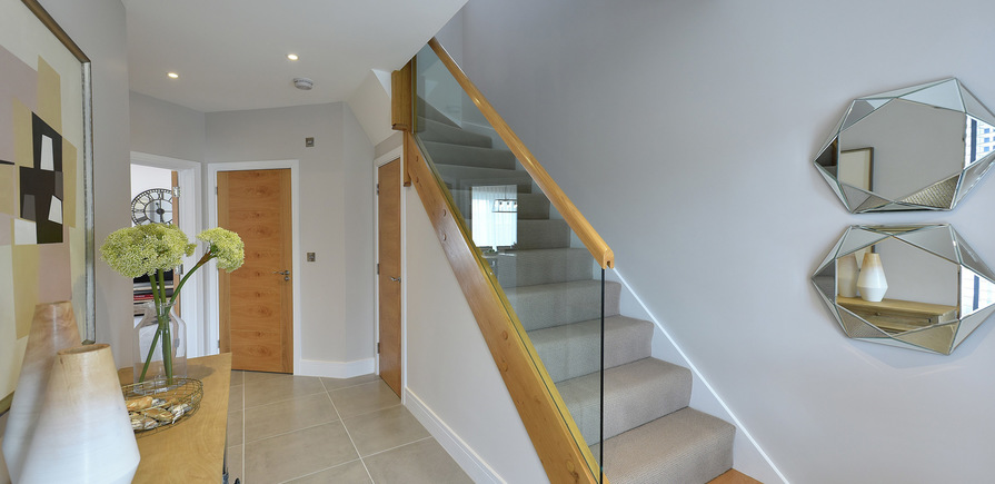 Berkeley, Edenbrook, Plot 390, Hallway, Interior