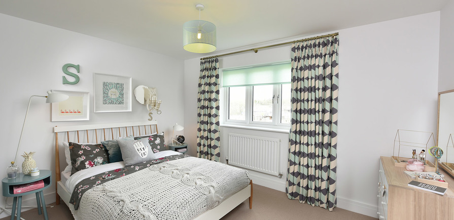 Berkeley, Edenbrook, Plot 390, Bedroom 03, Interior