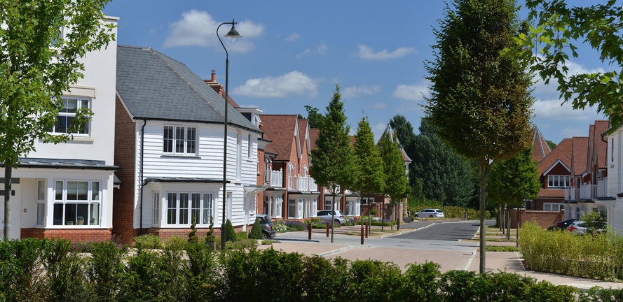Berkeley, Highwood, Horsham, West Sussex, Square to Boulevard