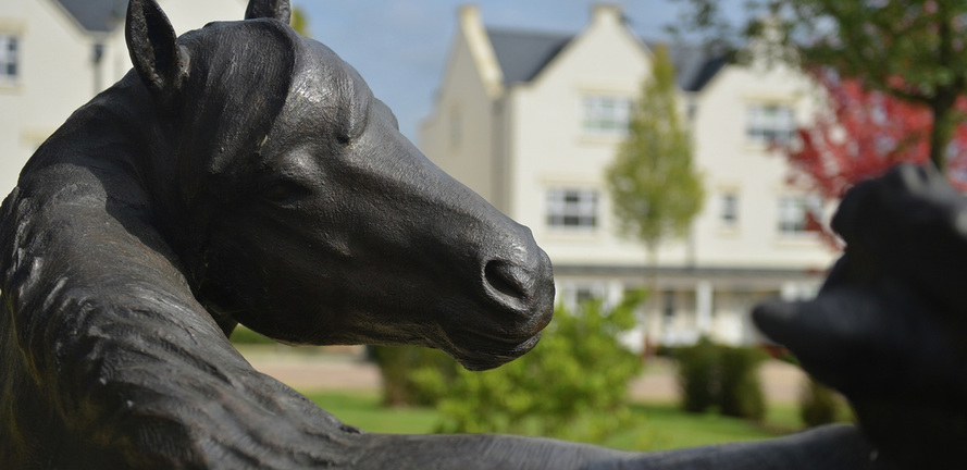 Berkeley, Highwood, Horse Statue