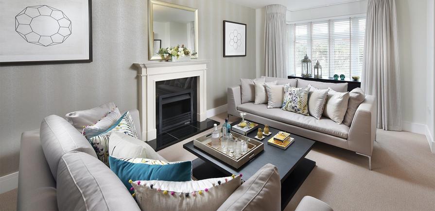Berkeley, Highwood, Interior, Living Room