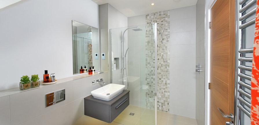 Berkeley, Highwood, River Walk, Interior, Shower Room