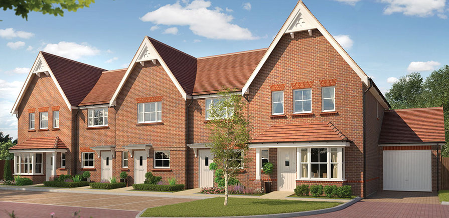 Berkeley, Highwood, Thatchers Park, The Rushmere, Properties 332-341