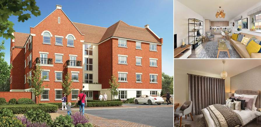 Berkeley, Highwood, The Tannery, CGI and interior