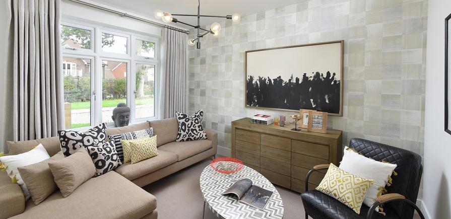 Berkeley, Highwood, River Walk, Living Room