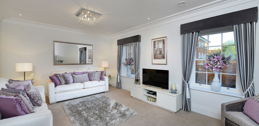 Berkeley, The Avenue, Finchley, Showhome, Indicative Interior, Living