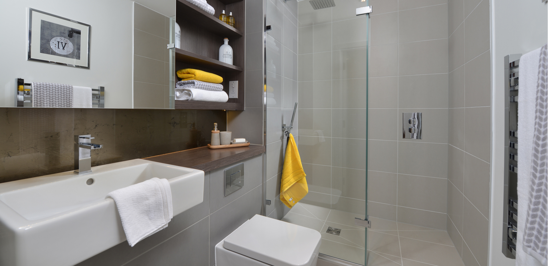 Berkeley, Kidbrooke Village, The Square, Shower Room, Interior