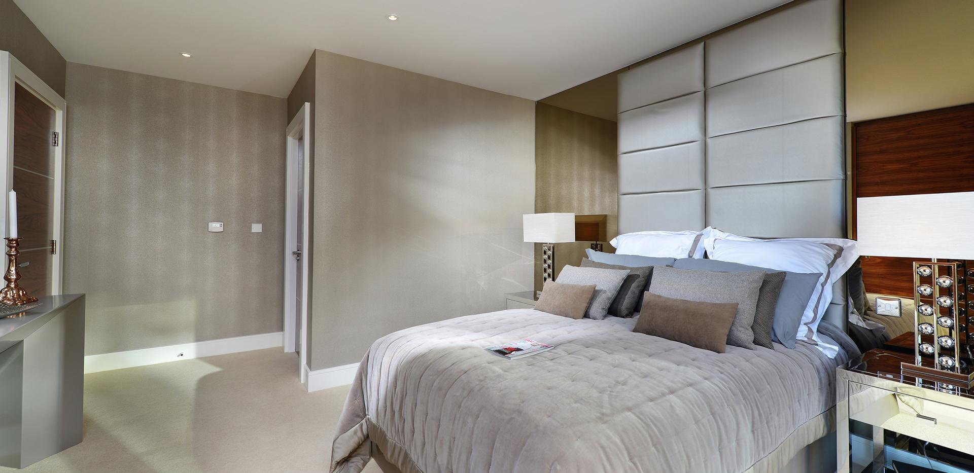 Berkeley Homes, Kidbrooke Village, Blackheath Quarter, Wallace Apartments, Bedroom Day