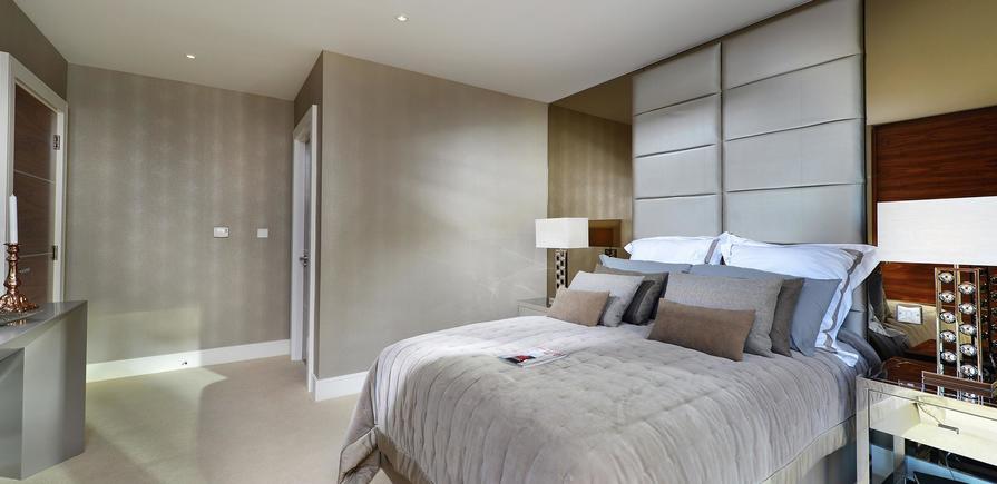 Berkeley Homes, Kidbrooke Village, Blackheath Quarter, Wallace Apartments, Bedroom Day