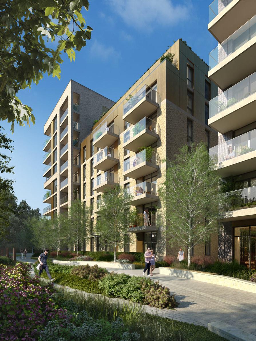 Berkeley, Queenshurst, Apartments, Dusk, Exterior