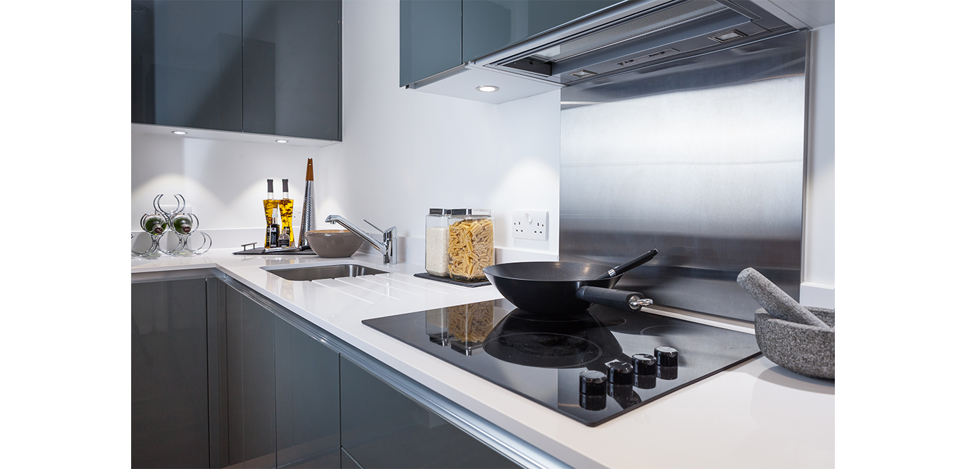 Berkeley, Cannon Square, Royal Arsenal Riverside,Kitchen, Show Apartment