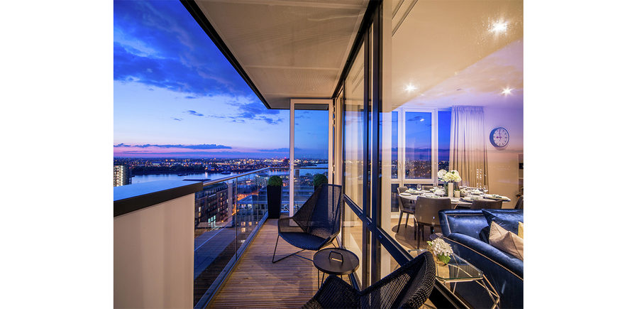 Berkeley, Waterfront, Royal Arsenal Riverside, Balcony, Show Apartment