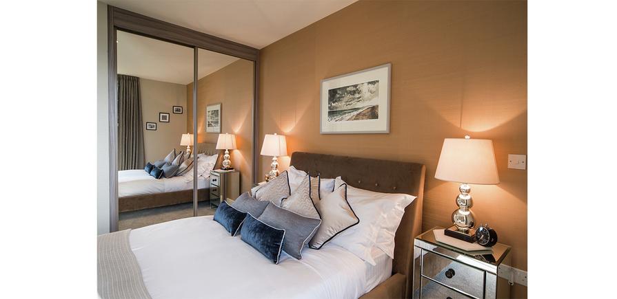 Berkeley, Waterfront, Royal Arsenal Riverside, Bedroom, Show Apartment